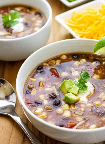 Quick Fix Chicken Tortilla Soup