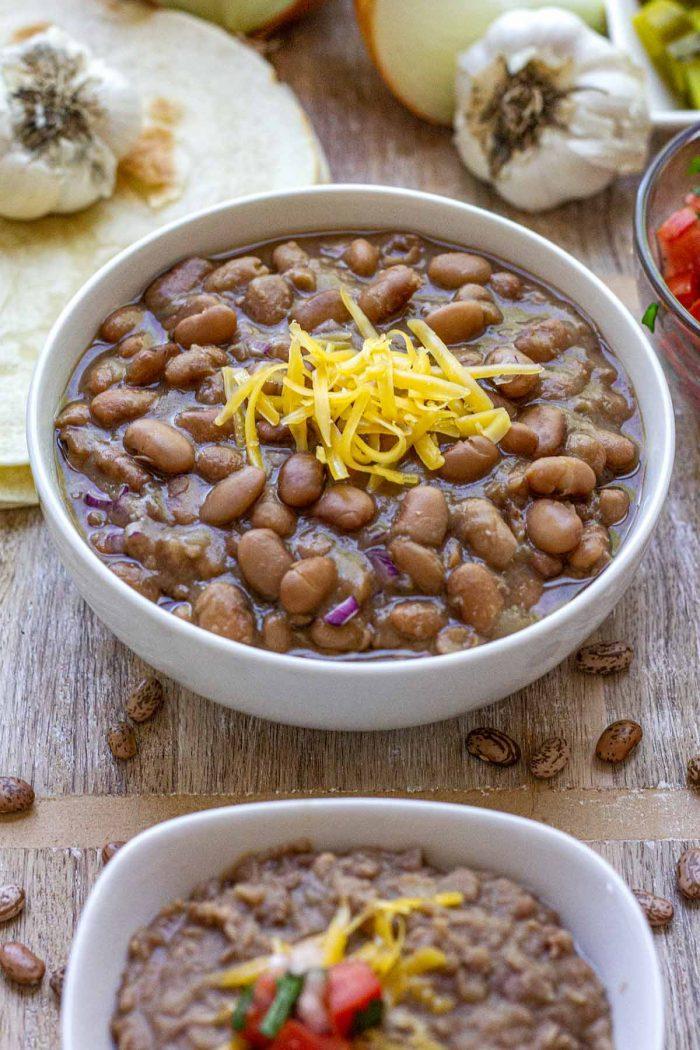 Instant Pot / Stove Top Pinto Beans
