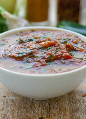 Restaurant Style Salsa (Low sodium!)