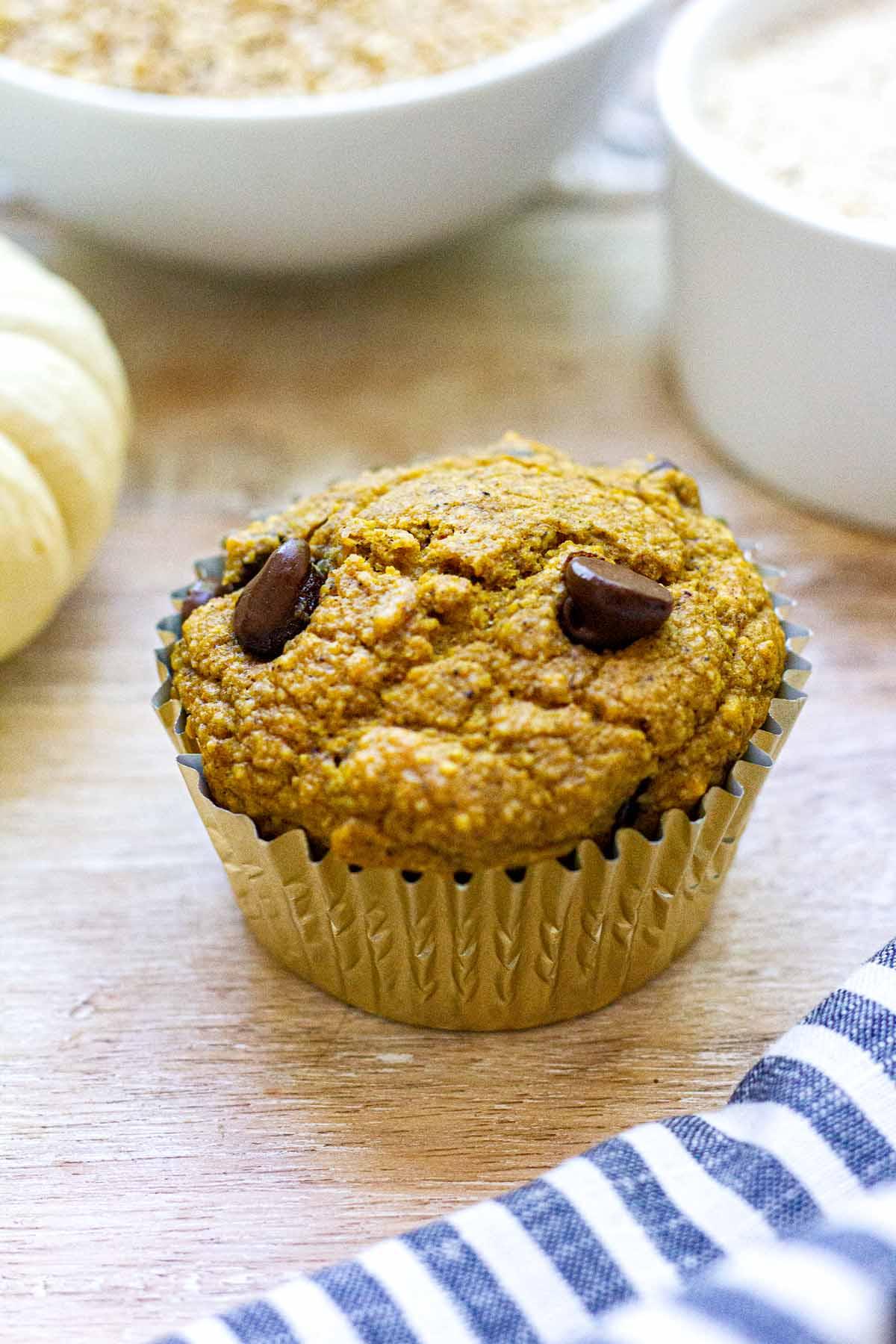 Healthier Pumpkin Muffin